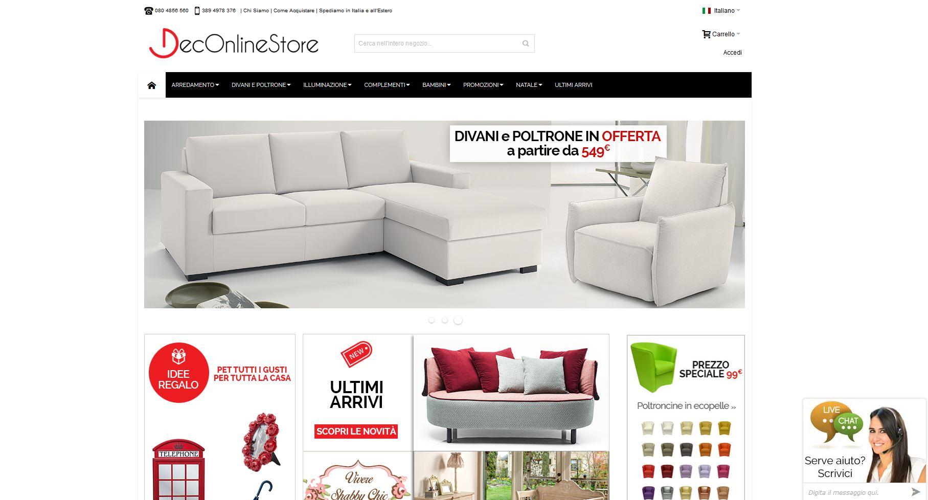 deconlinestore.com